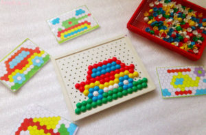 мозаика детям до 3х лет
