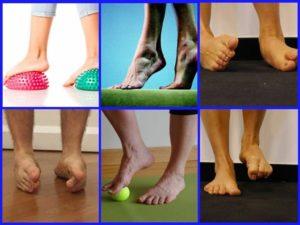 укрепление голеностопа упражнениями