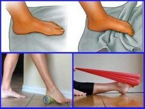 Как укрепить голеностоп, упражнения