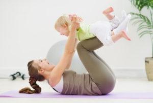 Гимнастика для малышей, программа упражнений: